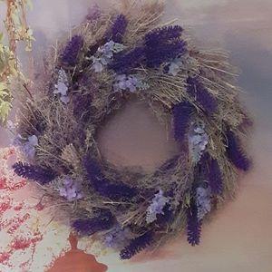 3/$25 Lavender Wreath